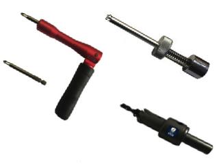 Penslot opening tools