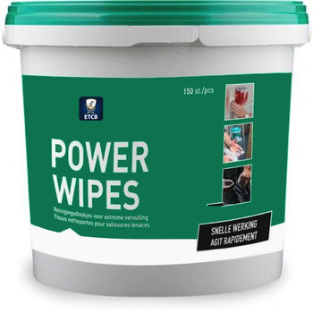 Powerwipes emmer 150 st