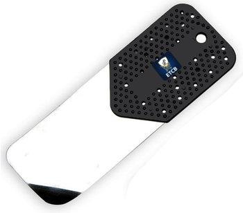 RVS flipperkaart zwart kort 0,15mm dik