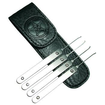 Professional sleutel extractor set 4 stuks